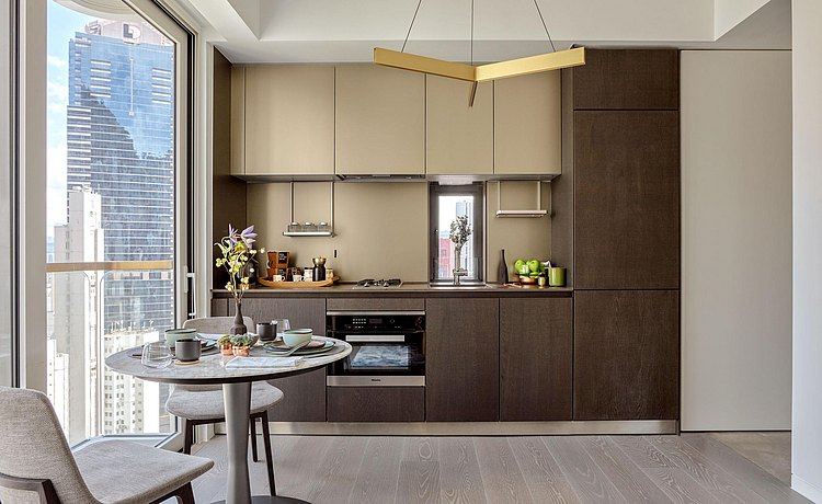 bulthaup kitchen dark oak